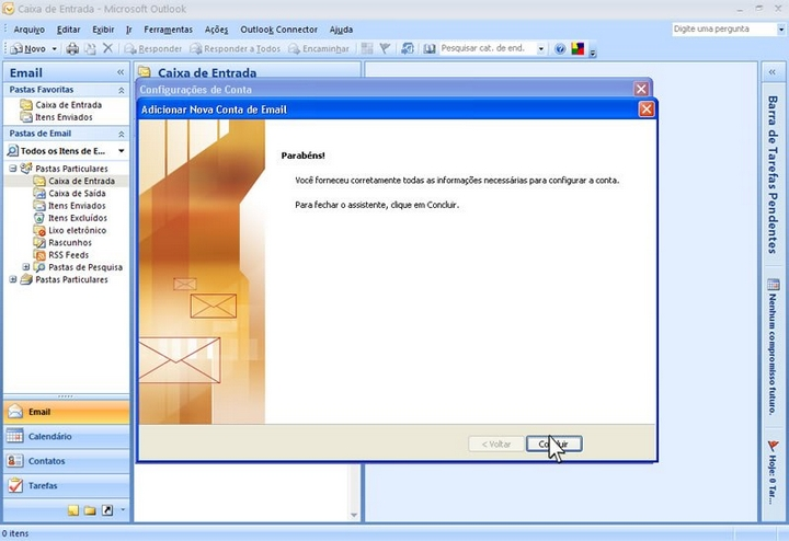 microsoft office outlook 2007 - 09