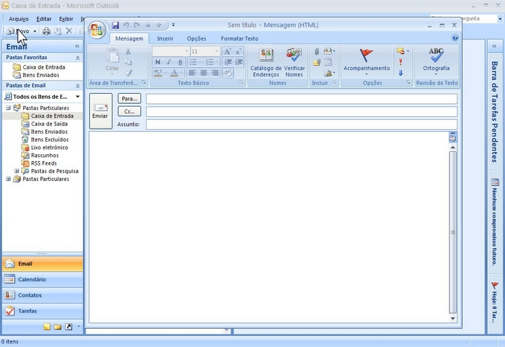 microsoft office outlook 2007 - 10
