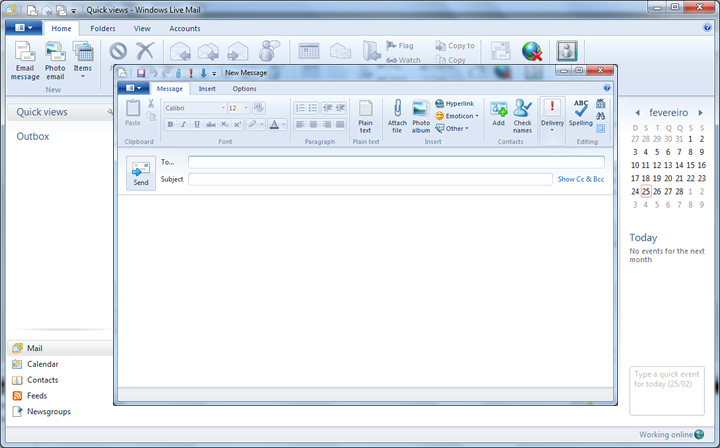 windows live mail 2012 - 08