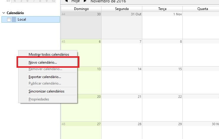 thunderbird-calendario - sincronizar