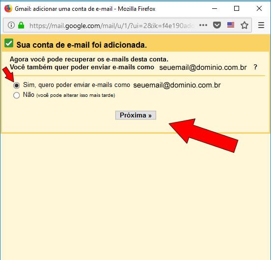 enviar e-mails